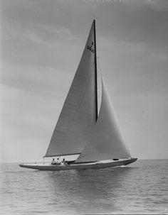 Yacht race, Marblehead Mass Leslie Jones, 1938 Boston Public Library