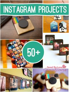 Over 50 Instagram Crafts to make