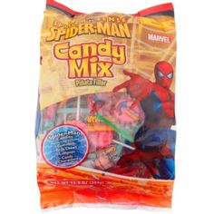 Spiderman Pinata Bag - Pinata Candy - Candy - Birthday Party Favors - Birthday Party Supplies - Categories - Party City