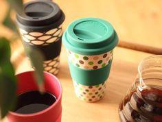 Ecoffee Stargate Bamboe Koffiebeker - € 12,50