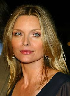 Michelle Pfeiffer Long, Straight, Blonde Hairstyle