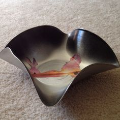 Melted record bowl