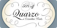 Quarzo (50% discount, $19.98) - http://fontsdiscounts.com/quarzo-50-discount-19-98/