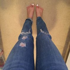 Boyfriend jeans The perfect boyfriend jeans! Not to loose and not too tight. Can be worn like normal, cropped, or even cropped all the up to look like capris. Purchased from Nordstrom! If you have any questions please let me know :) Jolt Jeans Boyfriend