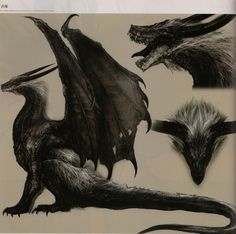 Risultati immagini per everlasting dragon concept art