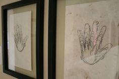 progressive hand sketches