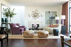Here we share tips with images for how to create well balanced room interior design in you home. three basic types - symmetrical, asymmetrical and radial