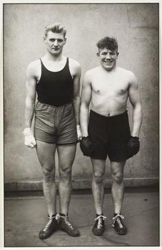 August Sander 'Boxers', 1929, printed 1993 © Die Photographische Sammlung/SK Stiftung Kultur - August Sander Archiv, Cologne; DACS, London, 2015.
