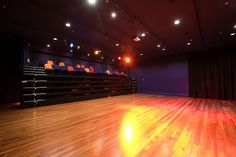 Retractable Seating Closed  - Oamaru Opera House, Williams Ross Architects
