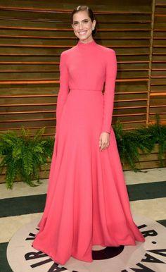 Allison Williams in Emilia Wickstead - Oscars 2014