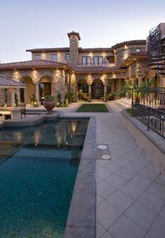 Luxury Homes with Pools@tracypillarinos  Houzz.com