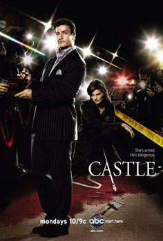 Castle starring Nathan Fillion and Stana Katic. Primo!