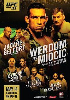 UFC_198_Werdum_vs._Miocic_Fightcard_Ergebnisse_Results
