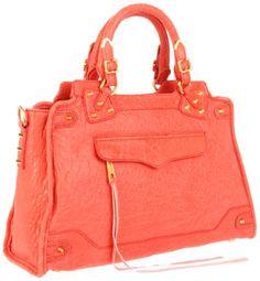 Rebecca Minkoff Desire Gold Hardware 10Zbebcs22 Shoulder Bag  shop all Rebecca Minkoff customer reviews (1)  color: Coral    $495.00