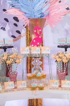 """Joanne's """"Memphis Design"""" Inspired Party - Desserts Baby Birthday, Birthday Ideas, Party Themes, Party Ideas, Memphis Design, 1st Birthdays, Party Desserts, Inspired, Inspiration"""