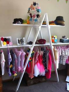 Clothes storage creative