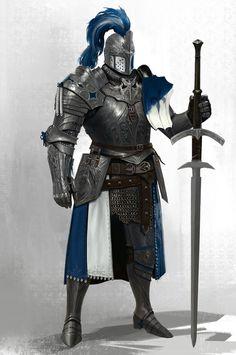Dragon Knight, Knight Art, Knight In Armor, Armadura Medieval, Medieval Armor, Medieval Fantasy, Dnd Characters, Fantasy Characters, Fantasy Character Design
