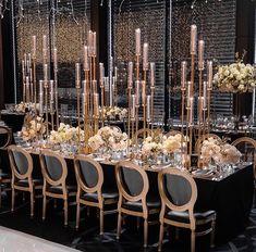 Best Wedding Reception Decoration Supplies - My Savvy Wedding Decor Wedding Table Centerpieces, Reception Decorations, Event Decor, Table Decorations, Gatsby Wedding Decorations, Reception Party, Birthday Decorations, Candlestick Centerpiece, Candlesticks