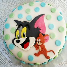 Tom y Jerry cake