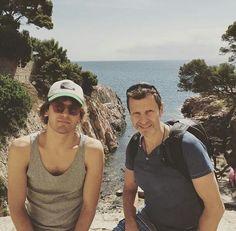 Andres gil y su papá