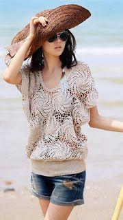Aprendiz de Crocheteiras: Blusa Croche