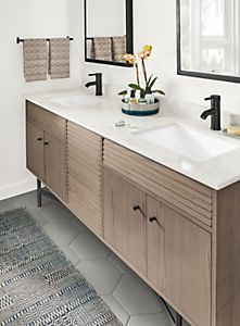 Adrian Bathroom Vanity Cabinets with Top - Modern Bathroom Vanities - Modern Bath Furniture - Room & Board