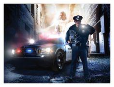 Police Officer Art Print