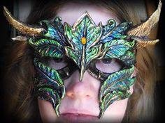 deviantART: More Like Tribal Bird Mask -- FOR SALE by *MoonlightMysteria