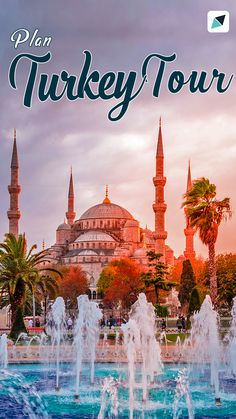 76 Turkey Tour Packages - Explore Turkey with customizable Turkey Travel Packages from Bangalore, Mumbai, Delhi etc. Book your Turkey holiday at best prices offered by verified and trusted agents on TravelTriangle. Turkey Tour Packages, Holiday Packages, Mumbai, Book Turkey, Turkey Holidays, Holiday Travel, Flyer Design, Taj Mahal, Travel Destinations