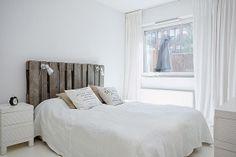 Cabecero de cama Inspiración + DIY: palets!