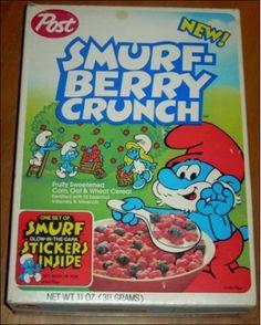 Smurf-Berry Crunch