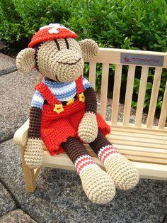 Jack, crochet Monkey ♥