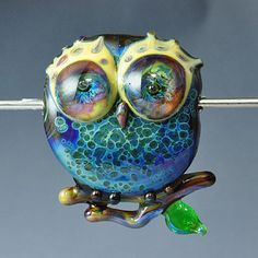 Beads: The Glass Owl #jewelrycrafting #beads #crafts #diy #glass #handmade #owls