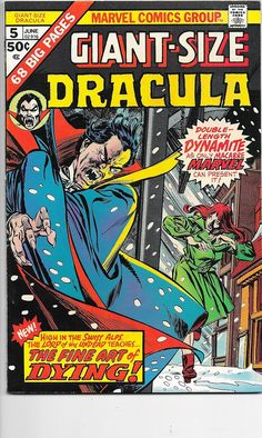 Giant Size Dracula #5 Marvel Comics Bronze Age VF/NM in Books, Comics & Magazines, Comics, US Comics | eBay!