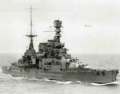 HMS Repulse.
