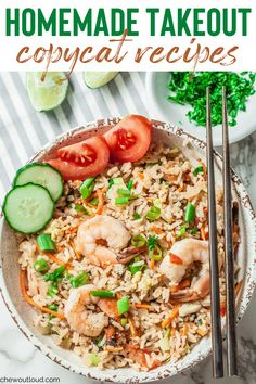 We love our Thai fried rice at the local Thai restaurant, but it's just so much healthier and easier to whip this up in under 30 minutes at home. It's a family favorite. We have a full list of takeout copycat recipes for you too! #takeout #fakeaway #copycatrecipes #homemadetakeoutrecipes #asianrecipes #dinnerrecipes Meal Ideas, Dinner Ideas, Dinner Recipes, Recipes With White Flour, Skinny Orange Chicken, Asian Recipes, Whole Food Recipes, Food Dishes, Side Dishes