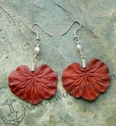 HAND MADE LEATHER EARRINGS WHOLESALE