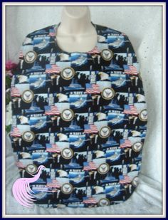 US Navy print  with cuddle flannel backing in by TheFuchsiaPhoenix