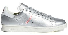 adidas Originals STAN SMITH [SILVER METT / BLUE TINT] b41750