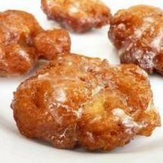 Southern Apple Fritters- apples make them a health food