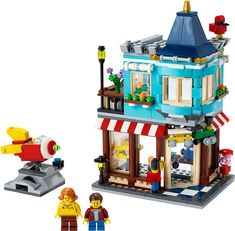 Shop LEGO Creator Townhouse Toy Store 31105 at Best Buy. Find low everyday prices and buy online for delivery or in-store pick-up. Lego Store, Shop Lego, Buy Lego, Toy Store, Lego Creator Sets, Building For Kids, Building Toys, Lego Mini, Games