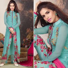 Latest indian salwar kameez bollywood punjabi suit pakistani shalwar EID dresses #punjabisuit #Salwarkameez