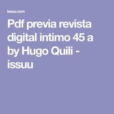 Pdf previa revista digital intimo 45 a by Hugo Quili - issuu