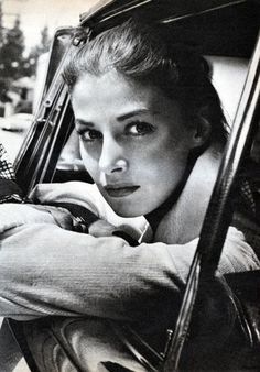 Pier Angeli photographed by James Dean, 1950′s.