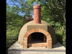 Pompeii Italian Brick Pizza Oven Construction - YouTube