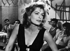 Melina Mercouri -- she became famous for playing a hooker in the film Never on Sunday and went on to become a member of the Greek Parliament-- Belle Epoque, Strangers In The Night, Cannes, Never On Sunday, Divas, Greek Culture, Classic Actresses, Great Films, Smiles And Laughs