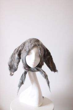 Outstanding! Felted headgear.