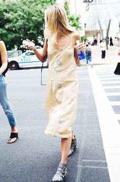 11 Fashion Week Street Style Outfits You Can Easily Recreate via @WhoWhatWear