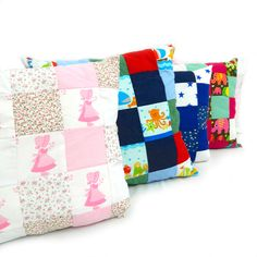 Patchwork cushion byt tiny toadstool creations.