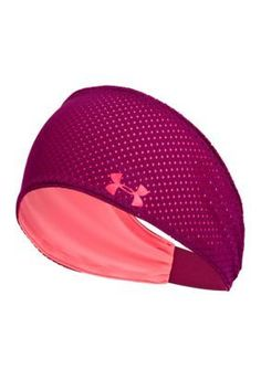 Get the most out of your next workout with the pink Won't Stop Headband!